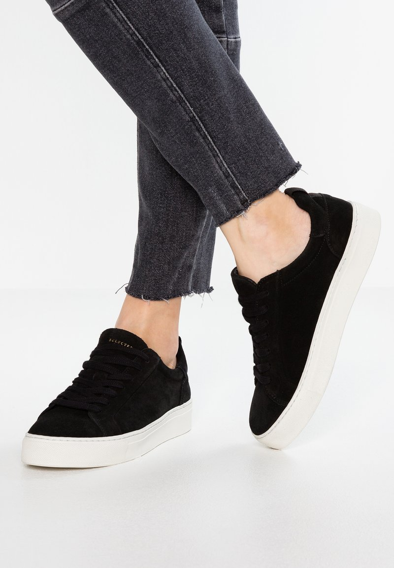 Selected Femme - DONNA  - Trainers - black