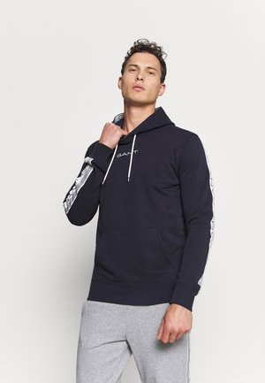 STRIPES HOODIE - Hoodie - evening blue