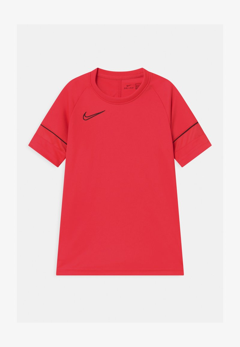 Nike Performance - ACADEMY UNISEX - Triko spotiskem - siren red/black