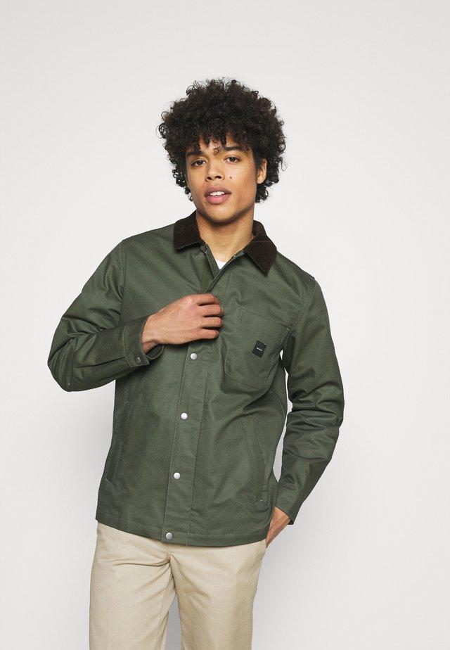 DOCK JACKET - Classic coat - green