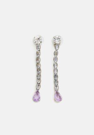 EARRINGS BEADS - Earrings - lilac