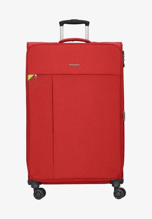 REVOLUTION - Wheeled suitcase - coral red