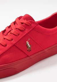 Polo Ralph Lauren - SAYER - Sneakersy niskie - red - 5