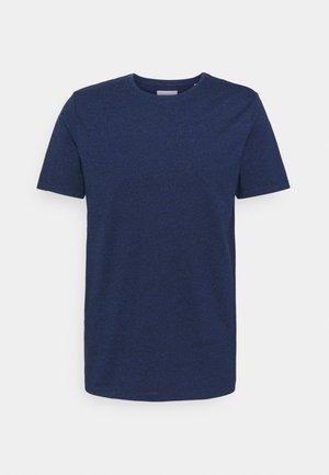 Basic T-shirt - deep navy mix
