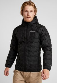 Columbia - DELTA RIDGE HOODED JACKET - Down jacket - black - 0