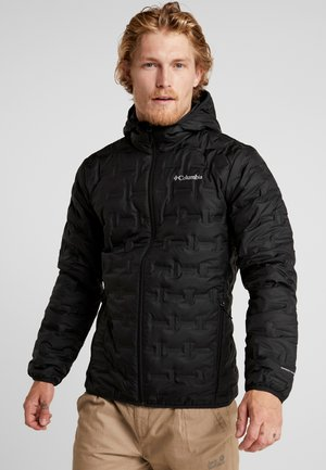 DELTA RIDGE HOODED JACKET - Untuvatakki - black