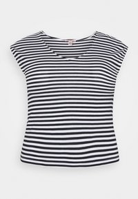 Anna Field Petite - Print T-shirt - black/white - 4