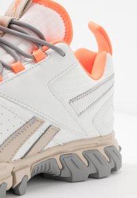 Reebok Classic - DMXPERT - Sneakersy niskie - trace grey/beige/solar orange - 2