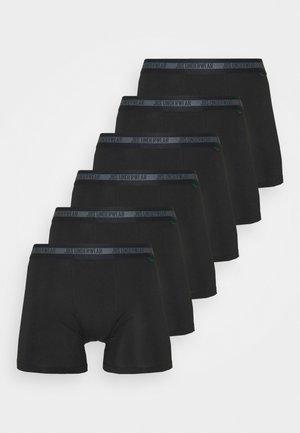 BAMBOO TIGHTS 6 PACK - Bokserit - schwarz