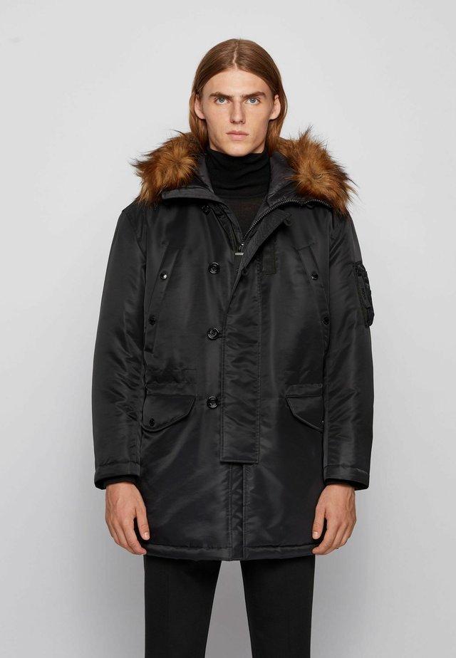 CAMALIS - Winter coat - black