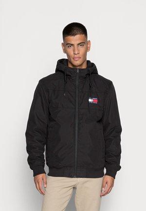 LINED SHELL JACKET - Winter jacket - black