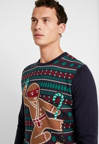 edc by Esprit - CHRISTMAS - Jumper - navy - 3