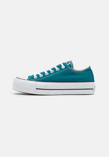 CHUCK TAYLOR ALL STAR LIFT - Baskets basses - bright spruce/white/black