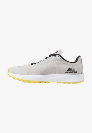 MONTRAIL F.K.T. LITE - Trail running shoes - white/black