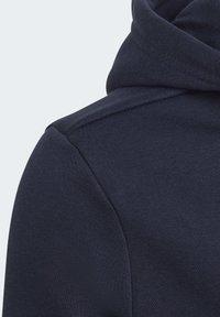 adidas Performance - MUST HAVES FLEECE FULL-ZIP HOODIE - Zip-up hoodie - blue - 5