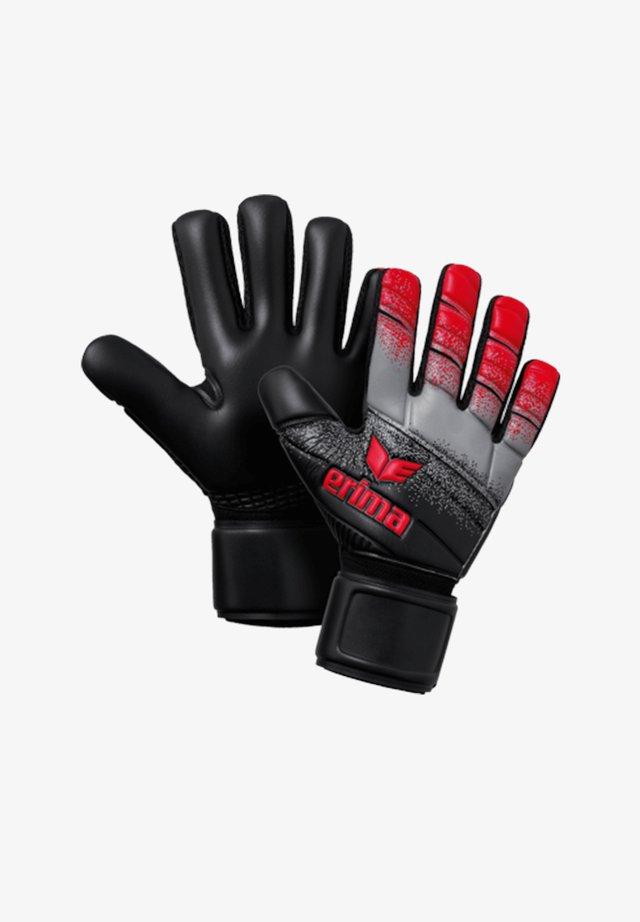 Goalkeeping gloves - schwarzrotgrau