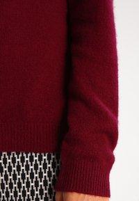Zalando Essentials - CASHMERE - Strickpullover - dark red - 4