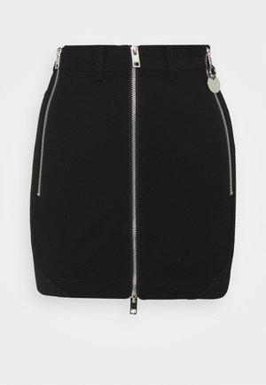 O-BIK - Mini skirt - black