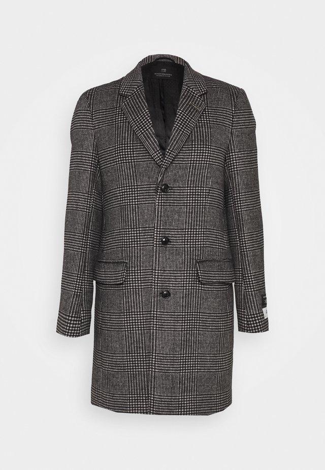 CLASSIC - Cappotto classico - black/white