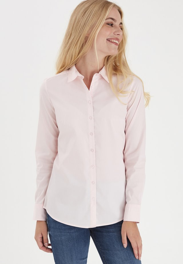 Button-down blouse - rosewater