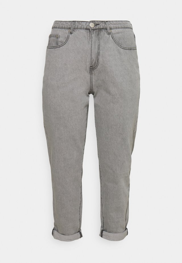 LADIES  - Jeansy Relaxed Fit - bleached light grey