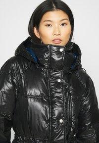 GAP - LONG PUFFER COAT - Winter coat - true black - 7