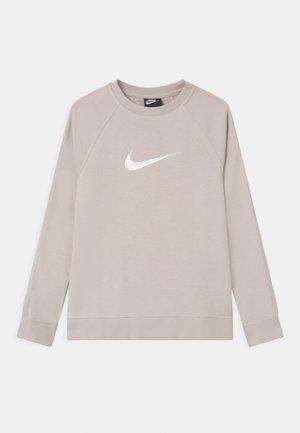 CREW - Sweatshirt - desert sand/white