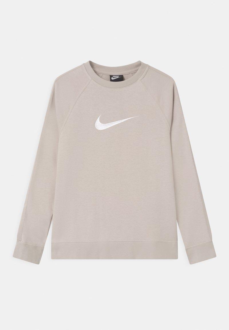 Nike Sportswear - CREW - Sudadera - desert sand/white