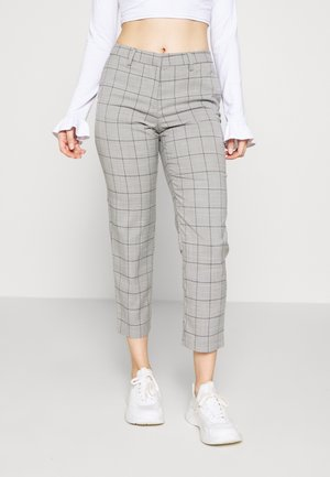 ONLSARAH WIN PANT - Trousers - light grey melange