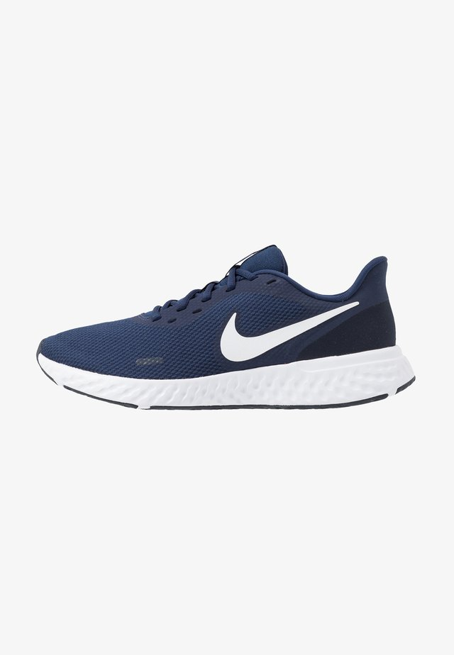 REVOLUTION 5 - Chaussures de running neutres - midnight navy/white/dark obsidian