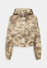 Missguided - CAMO CARGO UTILITY - Summer jacket - green - 3