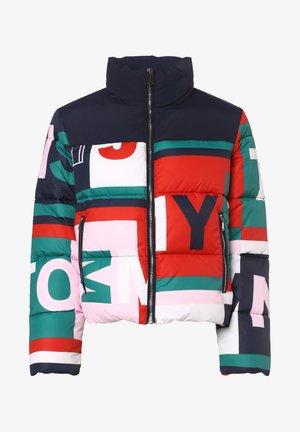 Winter jacket - marine mehrfarbig