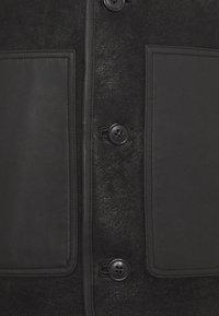 PS Paul Smith - JACKET - Leather jacket - black - 9