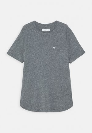 TEXTURE - Print T-shirt - blue