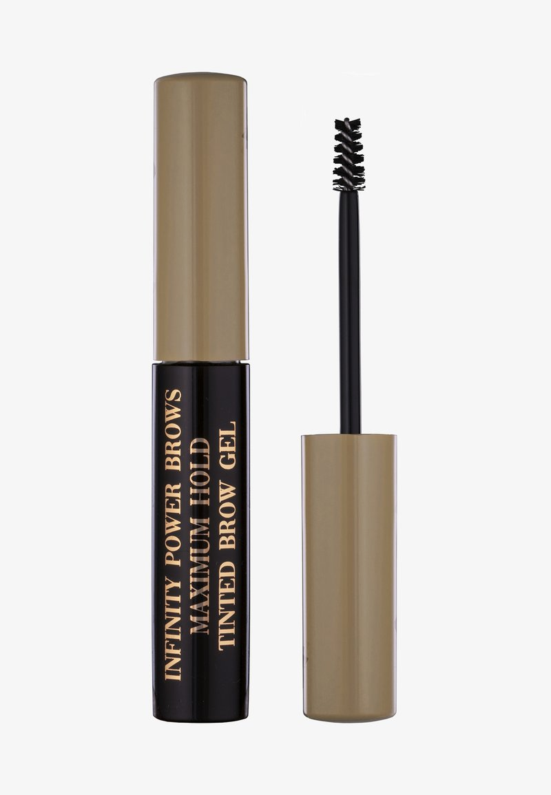 LH cosmetics - INFINITY POWER BROWS - MAXIMUM HOLD TINTED BROW GEL - Eyebrow gel - blonde