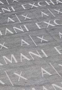 Armani Exchange - LOGO SCARF - Scarf - black - 2