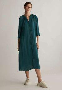OYSHO - Shirt dress - evergreen - 0