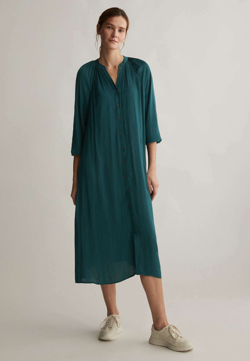OYSHO - Shirt dress - evergreen