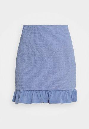 VIHAGEN SHORT FESTIVAL SKIRT - Minisukně - colony blue