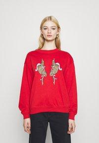 Monki - Sweatshirt - red - 0