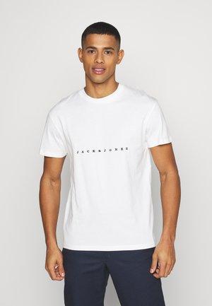JORCOPENHAGEN TEE CREW NECK - T-shirt imprimé - cloud dancer