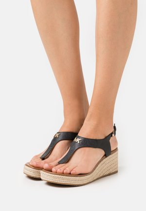 LANEY THONG - Espadryle - black