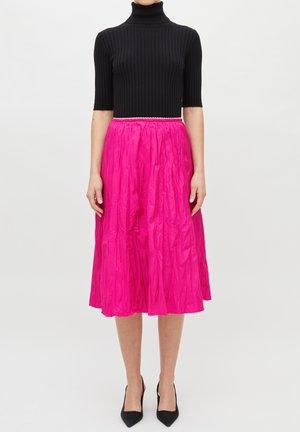 A-line skirt - fuxia