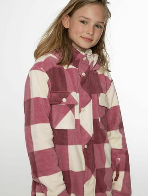 Soft shell jacket - berry melee