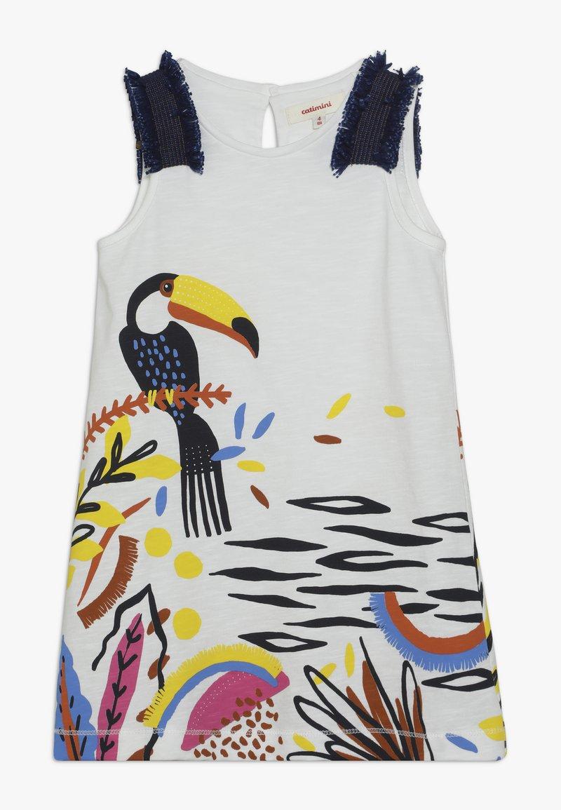 Catimini - DRESS - Žerzejové šaty - white