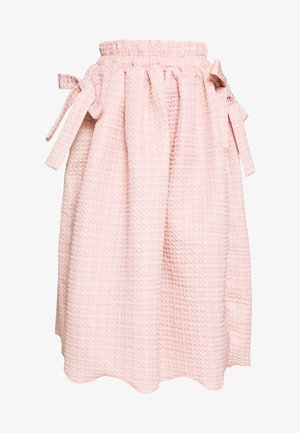 ROSY RAY MIDI SKIRT - Gonna a campana - pink