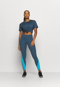 Under Armour - RUSH LEGGING - Tights - mechanic blue - 1