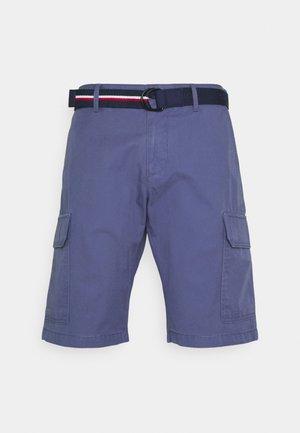 JOHN CARGO BELT - Shorts - faded indigo