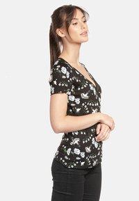Vive Maria - PARADISE  - Print T-shirt - schwarz allover - 2