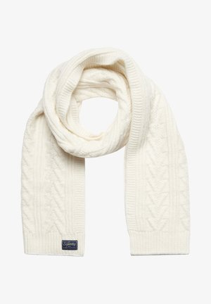 CABLE LUX  - Scarf - winter white